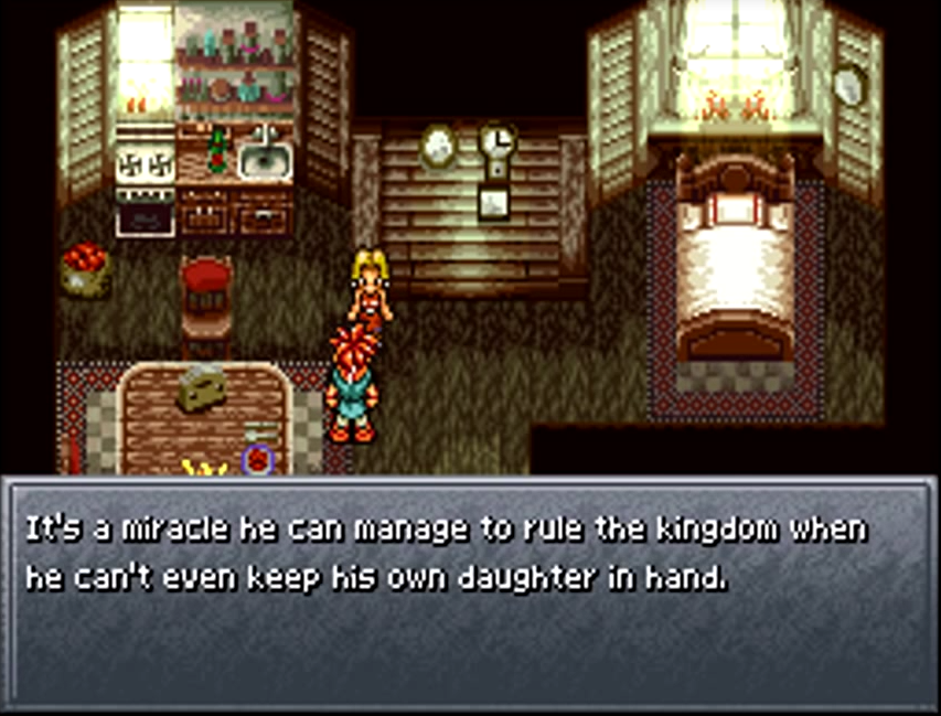 Crono visits a home in 1000 AD