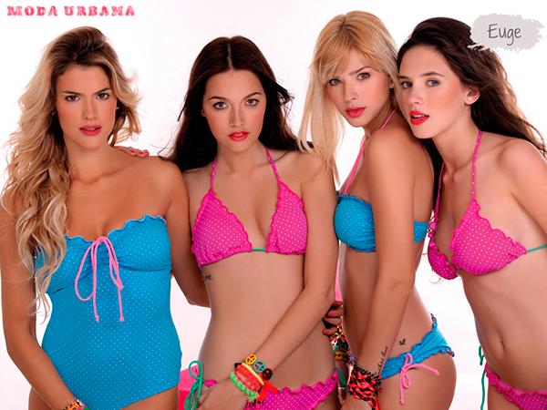 Sweet Victorian 2013 Mallas y bikinis con lunares