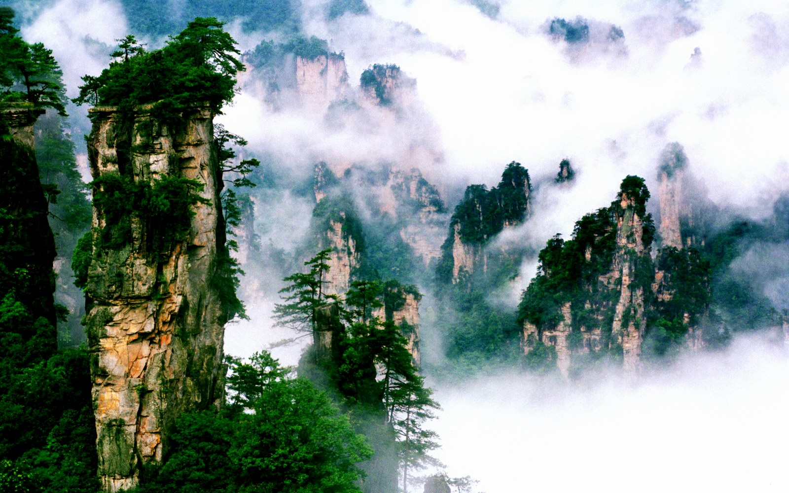 One for the road mist and mountains wulingyuan china for Http pictures