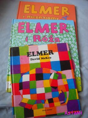 ZABAWY KSIĄŻKĄ INSPIROWANE Elmer -i jest nam kolorowo