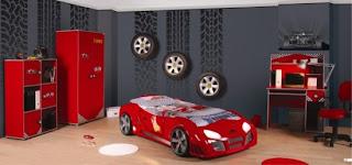Arabal%C4%B1 yatak odas%C4%B1 550x257 Arabalı yatak modelleri