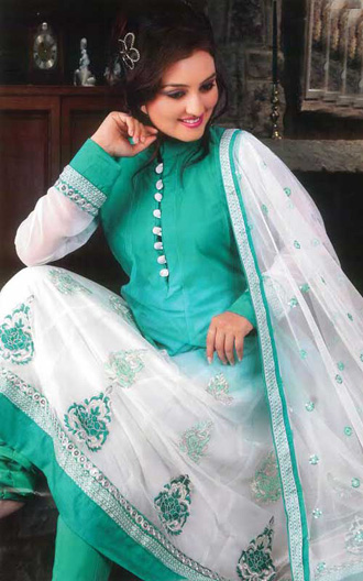 Stylish anarkali frock designs