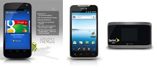 Samsung Galaxy Nexus, LG Viper LTE Android smartphones for Sprint