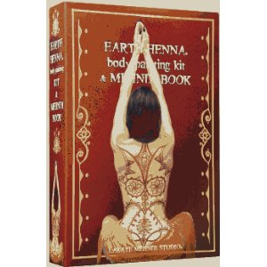 Earth Henna Book and Body Painting Kit
