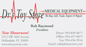 Dr's Toy Store - Florida's largest Medical Showroom