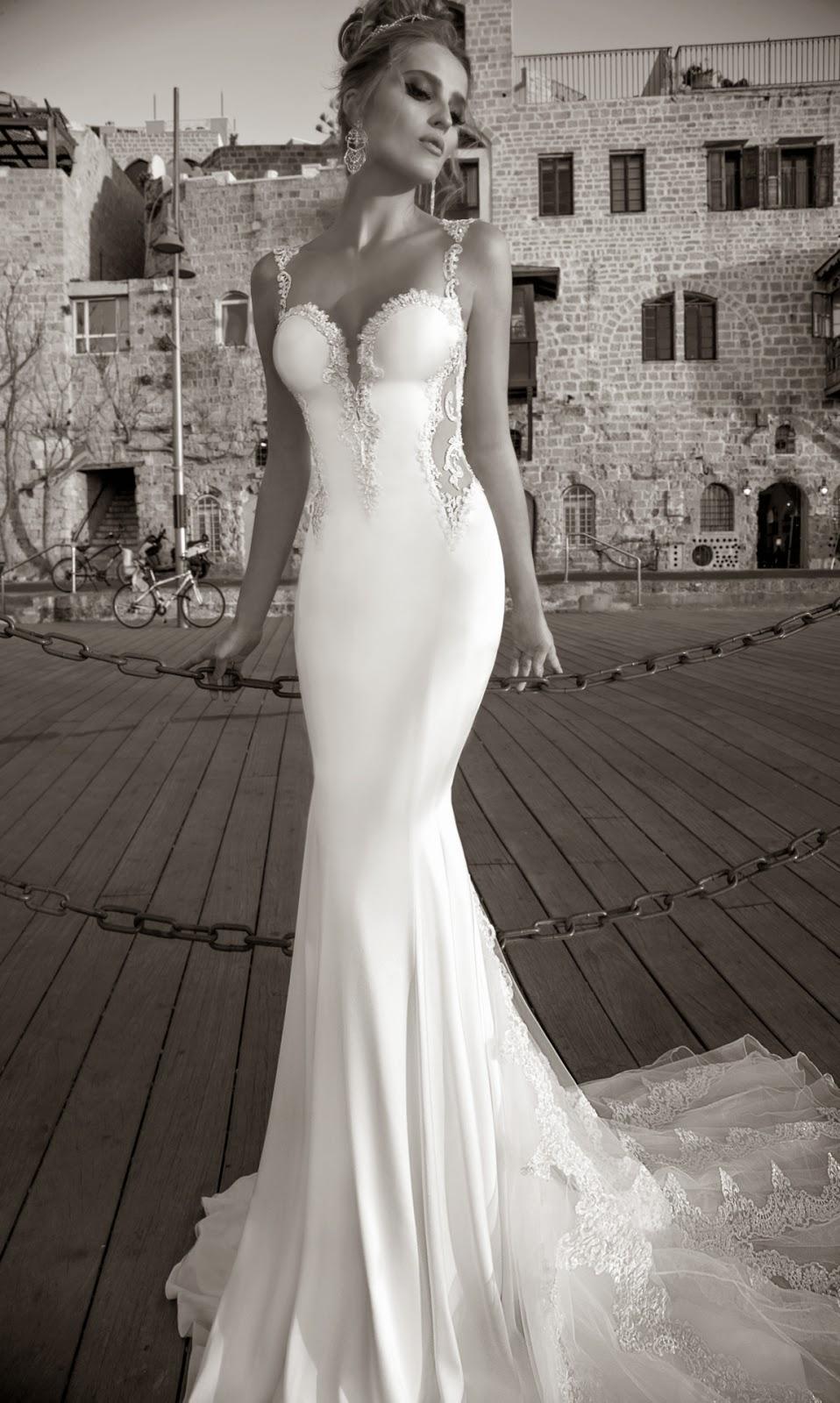 mermaid style gown by Galia Lahav