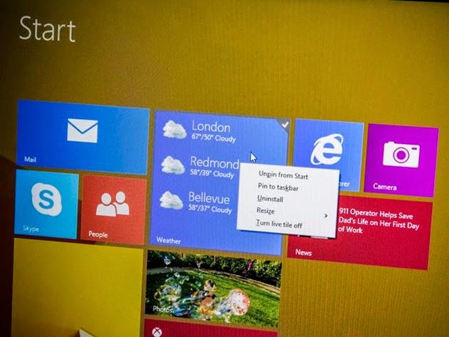 Microsoft buộc người dùng Windows 8.1 phải nâng cấp bản Update 1