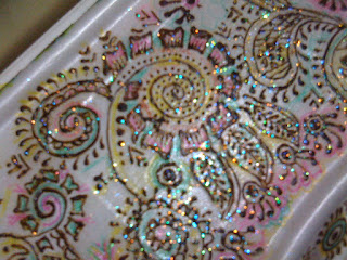 Henna Designed Colorful Box