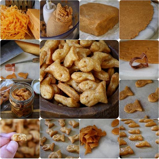 how to make goldfish crackers
