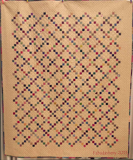 Single Irish Chain Quilt Fabadashery