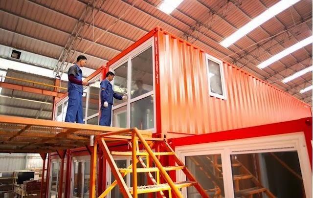 Casas contenedores links de inter s sobre los procesos constructivos de las - Construire en container ...