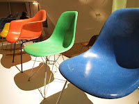 Eames chairs - Essential Eames exhibition, ArtScience Museum, Singapore