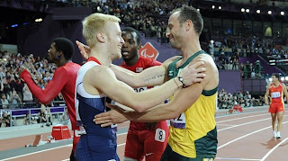 London 2012 Paralympic Games : Oscar Pistorius Tips Jonnie Peacock for Greatness