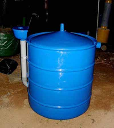 Portable Type Bio Gas Plant Type 01 Part 95