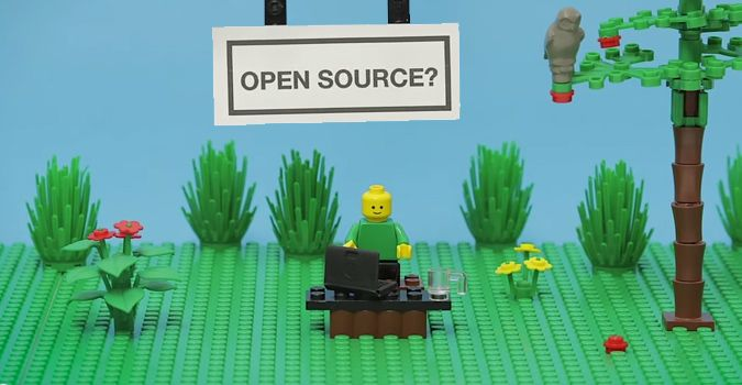 definicion de open source con Legos
