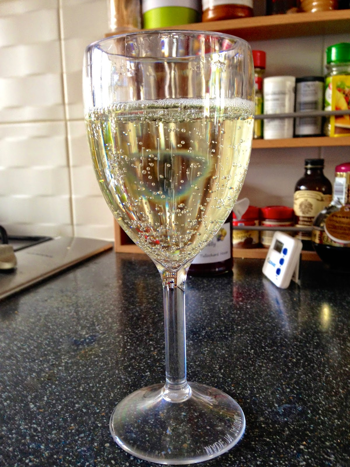 Glass of Prosecco