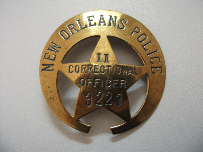 Louisiana police patches collector my new orleans badges for Police orleans