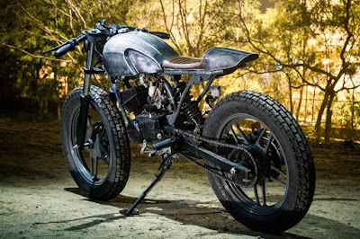 Yamaha RX 135 Cafe Racer by Bull City Custom