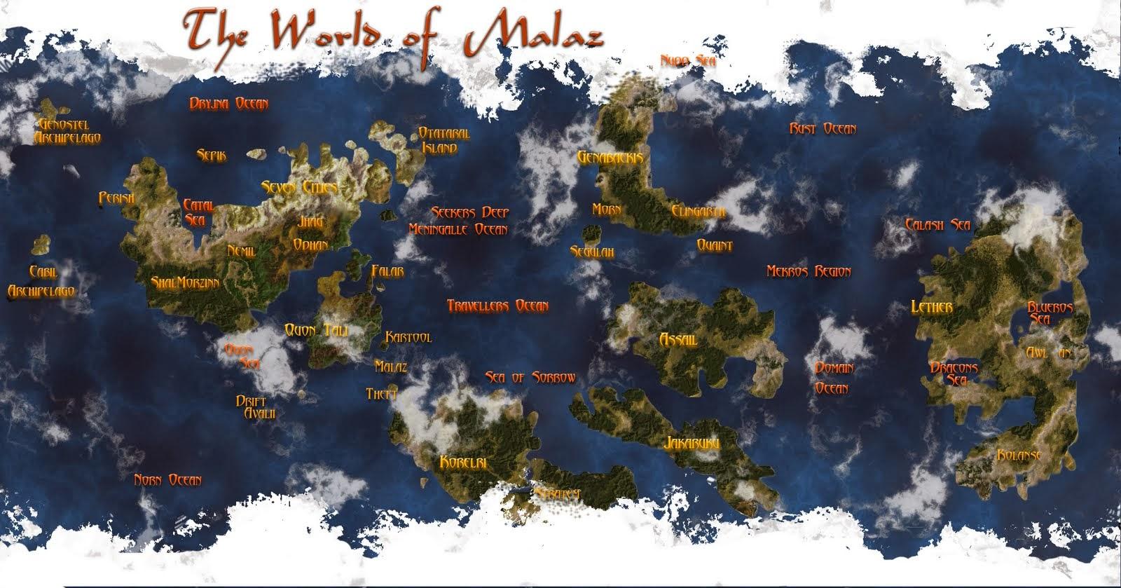 mapas de fantasia