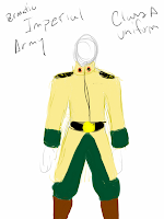 The Class A Uniform of the Permatic Imperial Army. (circa  150 PIY)