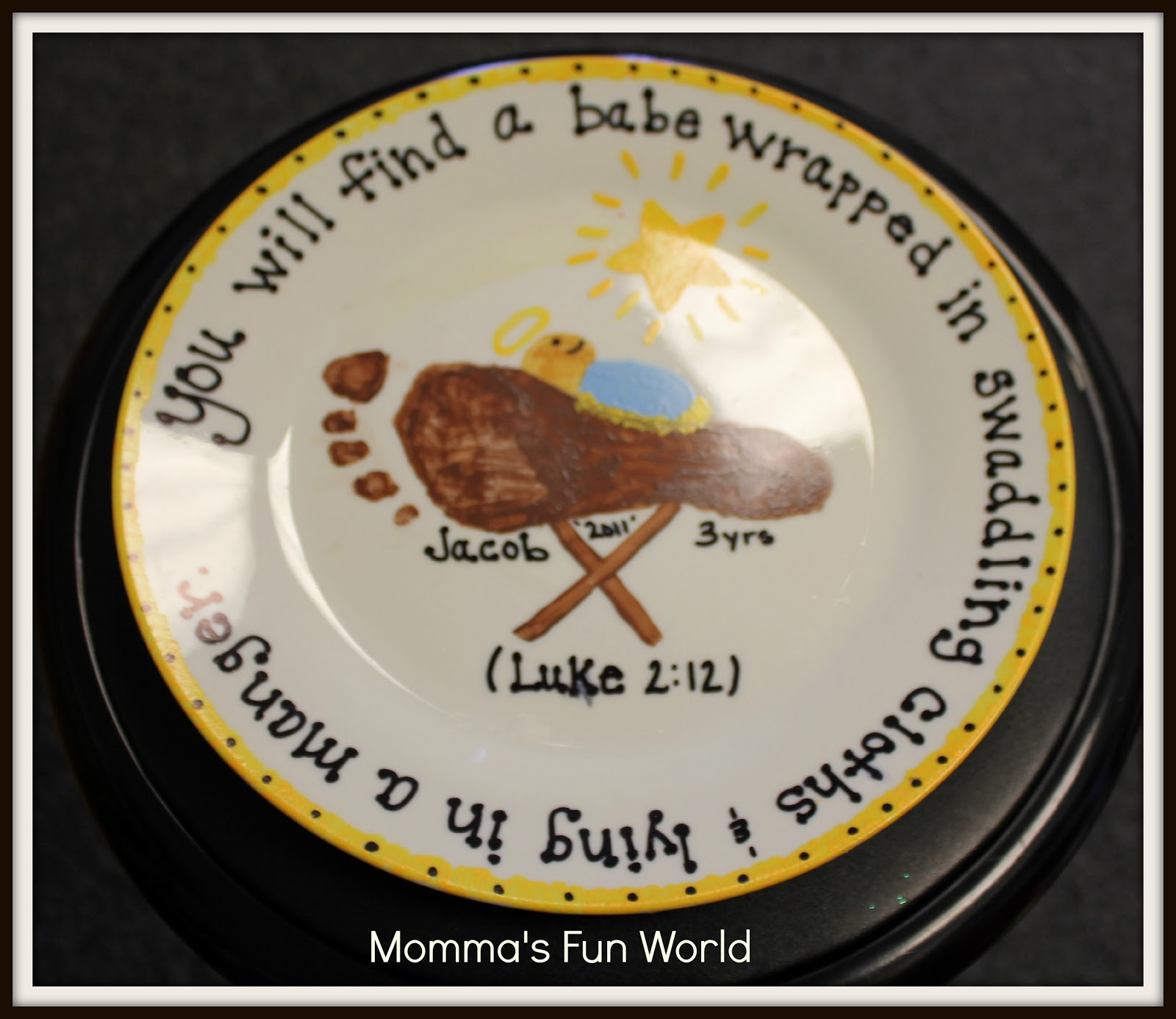 momma u0027s fun world baby jesus in a manger kids craft