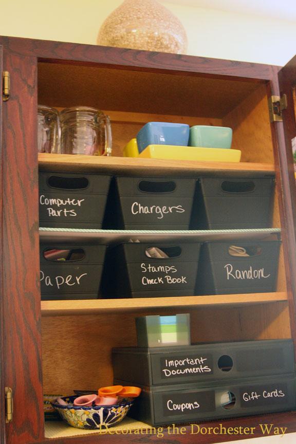 Decorating the dorchester way kitchen junk drawer for Kitchen junk drawer