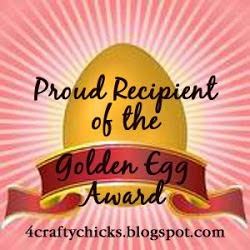 7 x 4 Crafty Chicks Award