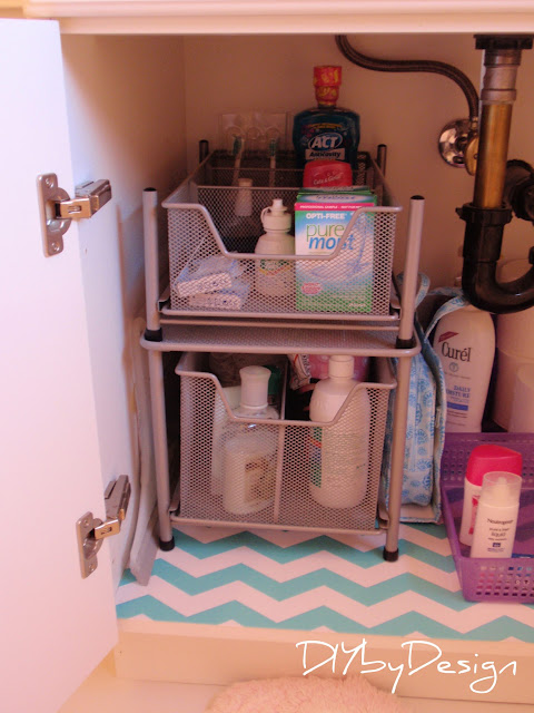 10 Amazing Ideas To Utilize The Space Under The Sink For Storage: DIY By Design: Under Sink Storage Solutions