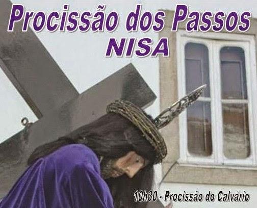NISA: PROCISSÃO DOS PASSOS NO DOMINGO