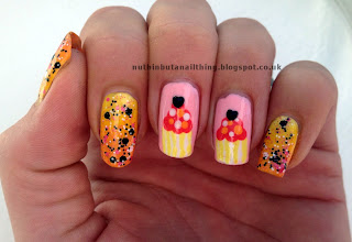 Cupcake Nails Tutorial