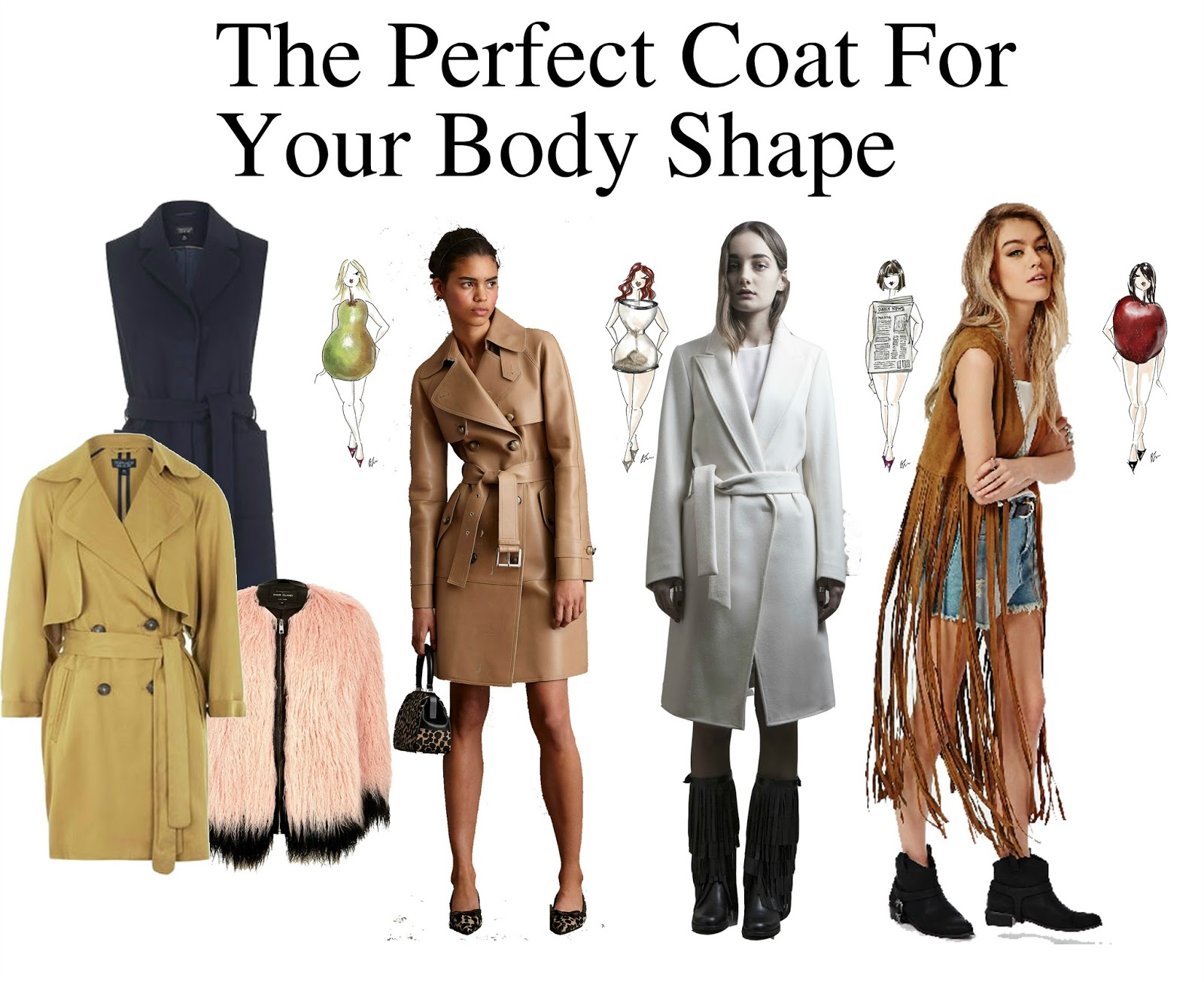 The Perfect Coat For Your Body Shape