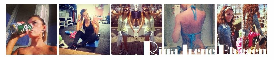Rina Irene bloggen
