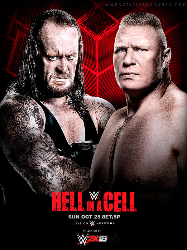 WWE Hell In A Cell 2015 HDTV 1.7 GB Mp4 , MKV 800MB
