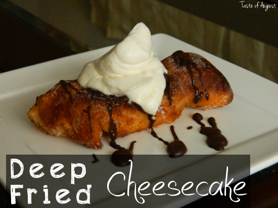 Fried Cheesecake
