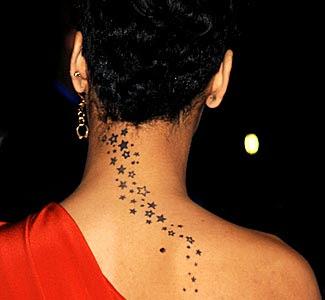 Rihanna Tattoo Though Rihanna Has Many Tattoos This Is One