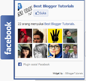 Cara Membuat Like FansPage di Blog  yang keren