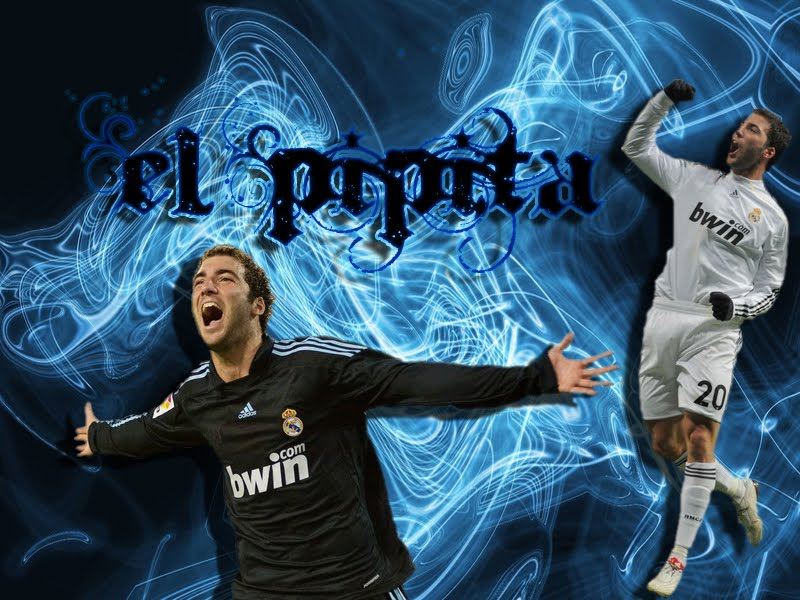 Gonzalo Higuain Real Madrid Wallpaper