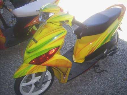 Foto Modifikasi Motor Mio J Terbaru 2013 - 2014 title=