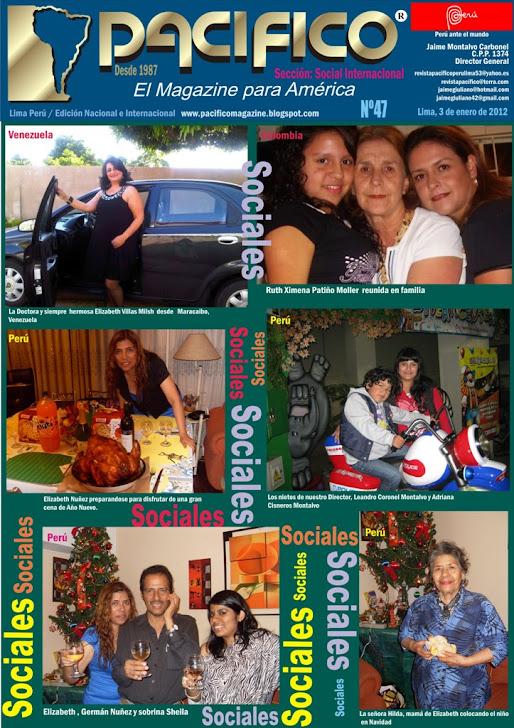 Revista Pacífico Nº 47 Social Internacional