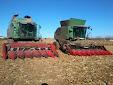 Fendt 9350R & Fendt 6300C AL combines