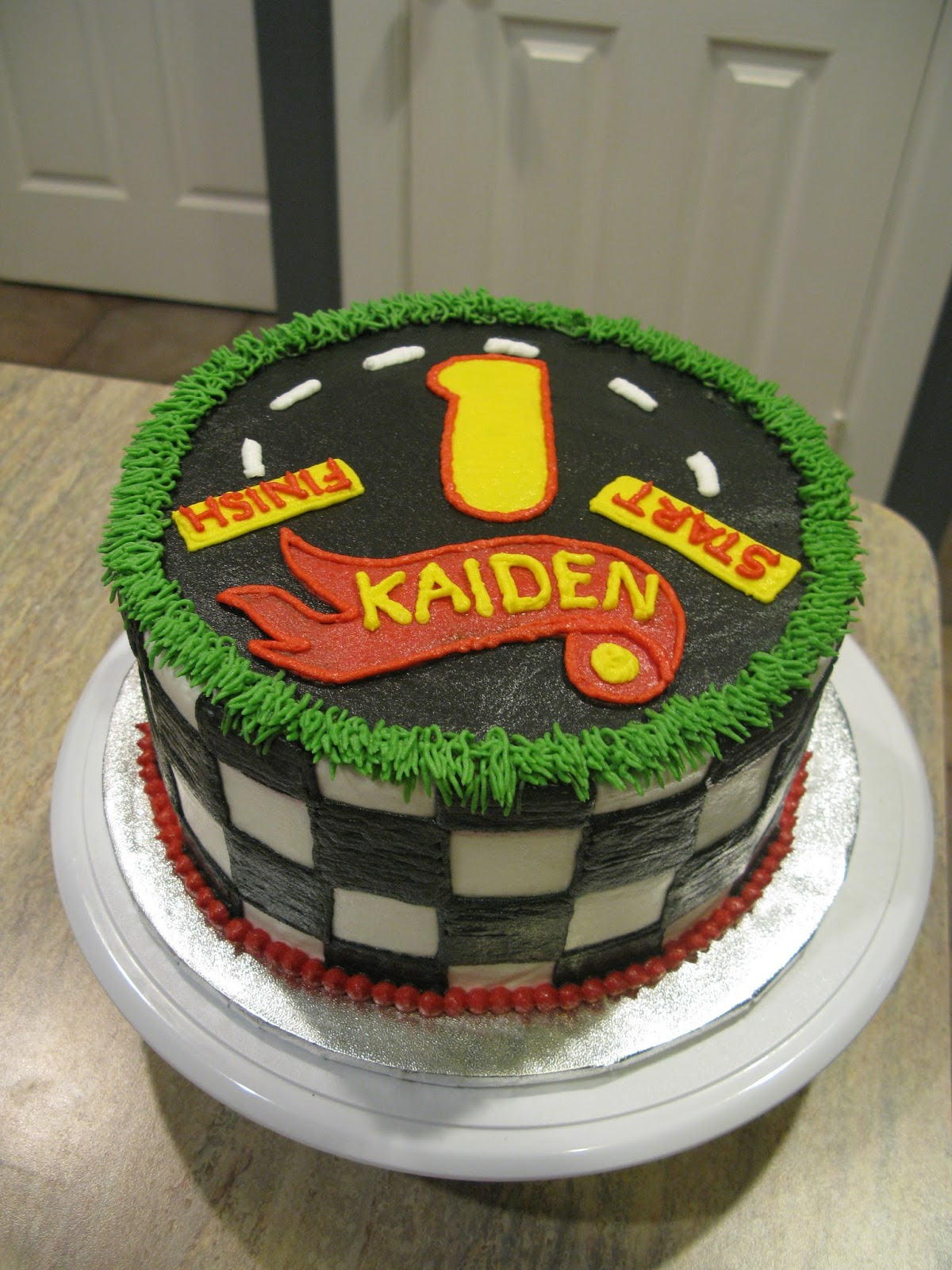A Counselors Confections Hot Wheels Birthday Cake