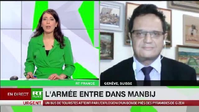Riadh Sidaoui à RT France : Le rôle néfaste de la Turquie en Syrie!