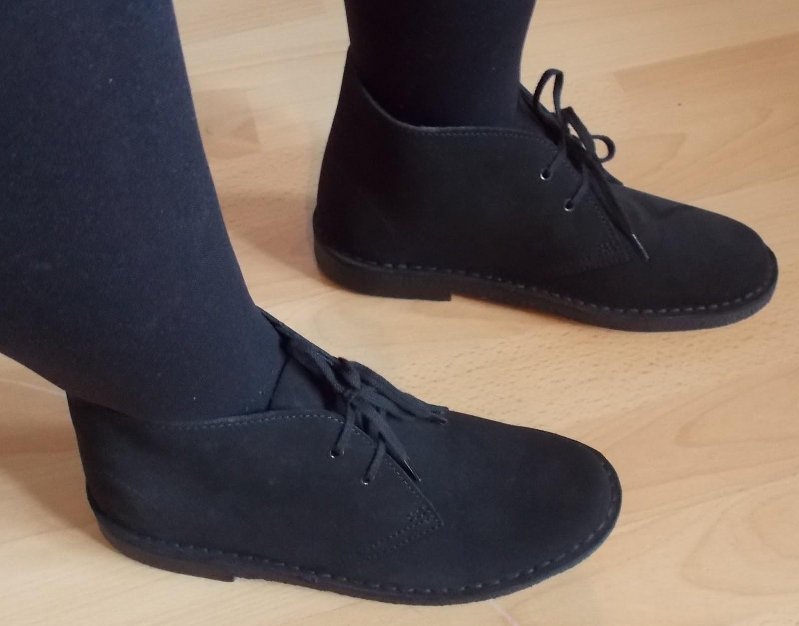 black suede clarks originals desert shoes nail waxing