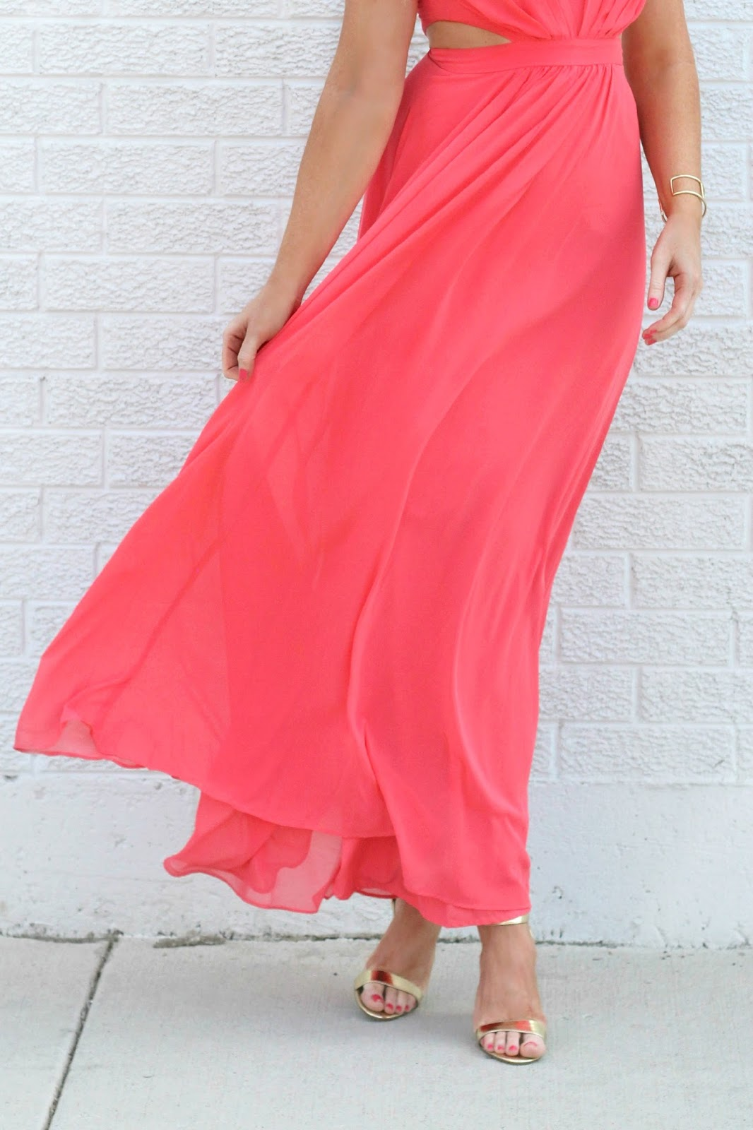 jcrew-metallic-heels-and-asos-red-maxi-dress