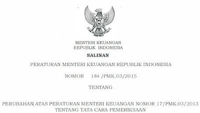 PMK 184 Tahun 2015