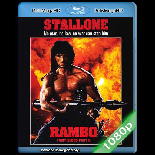 RAMBO: ACORRALADO II (1985) FULL 1080P HD MKV ESPAÑOL LATINO