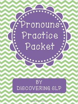 http://www.teacherspayteachers.com/Product/Pronouns-Practice-Packet-1324467