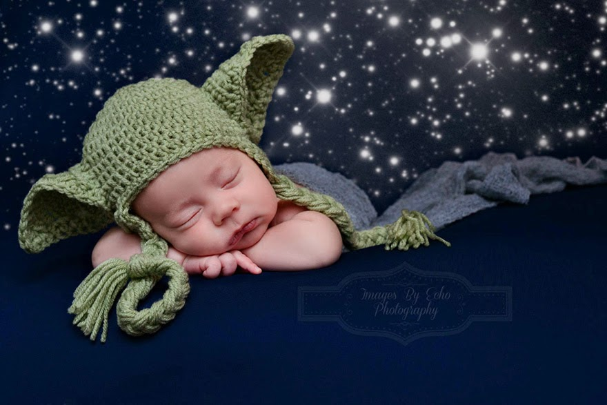#9 Baby Yoda - 22 Geeky Newborns Who Are Following In Their Parents' Nerdy Footsteps