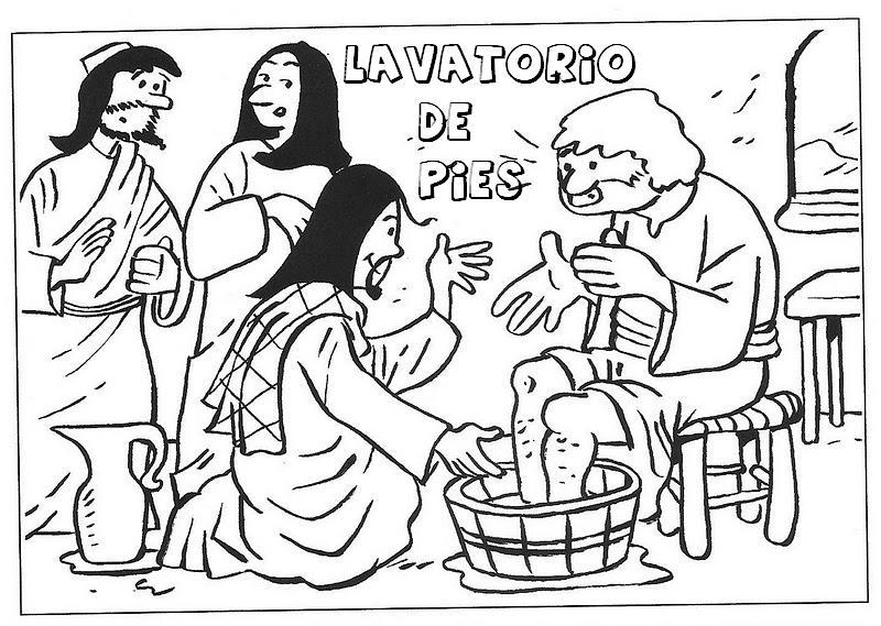 La Catequesis (El blog de Sandra): Colorea las Escenas de Semana Santa