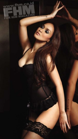 Indonesian girl only sara wijayanto model fhm magazine
